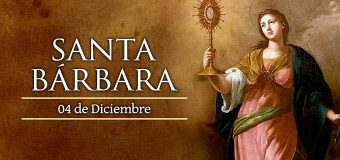 LA FIESTA DE SANTA BÁRBARA, VIRGEN Y MÁRTIR