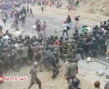 AFIRMAN QUE CRISIS Y PANDEMIA ORIGINARON CARAVANA DE MIGRANTES QUE HABÍA PARTIDO DE HONDURAS
