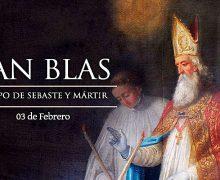 HOY ES LA FIESTA DE SAN BLAS, PATRONO DE ENFERMEDADES DE LA GARGANTA Y LARINGÓLOGOS