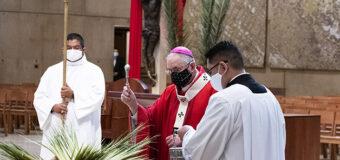 EN ESTA SEMANA SANTA CON PANDEMIA CARGUEMOS LA CRUZ JUNTO A JESÚS, ALIENTA ARZOBISPO