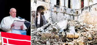 PAPA FRANCISCO SE SOLIDARIZA CON LAS VÍCTIMAS DEL TERREMOTO EN HAITÍ