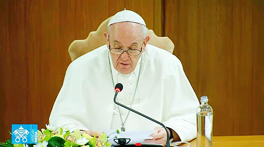 DISCURSO DEL PAPA FRANCISCO EN LA APERTURA DEL PROCESO SINODAL SOBRE LA SINODALIDAD